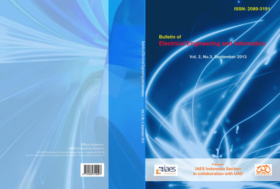 Bulletin of Electrical Engineering and Informatics PDF