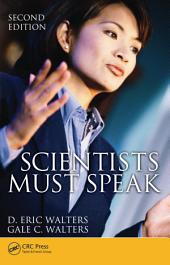 Scientists Must Speak: Edition 2
