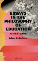 Essays in the Philosophy of Education PDF