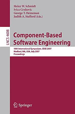 Component Based Software Engineering PDF