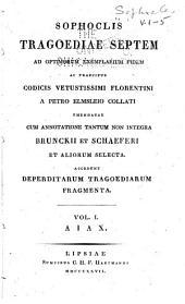 Sophoclis tragoediae septem: Τόμοι 1-5