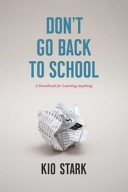 Don t Go Back to School PDF