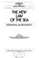 The New Law of the Sea PDF