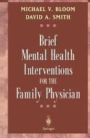 Brief Mental Health Interventions for the Family Physician PDF