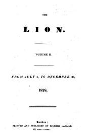 The Lion: Volume 2