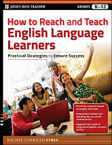 How to Reach and Teach English Language Learners Book