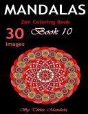 Mandalas Zen Coloring Book