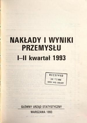 Nak  ady i wyniki przemys  u PDF