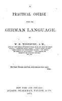 A Practical Course with the German Language PDF