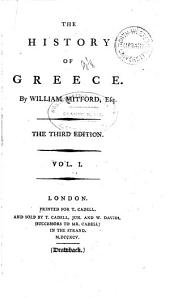 The History of Greece: Volume 1