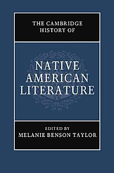 The Cambridge History of Native American Literature  Volume 1 PDF