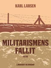 Militarismens fallit