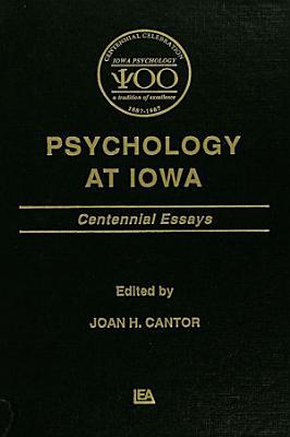 Psychology at Iowa PDF