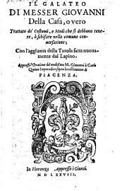 Il Galateo (etc.)