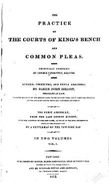 The Practice of the Courts of King s Bench and Common Pleas PDF