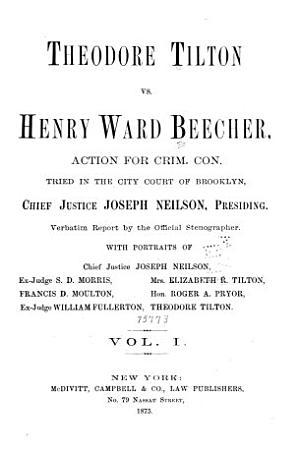 Theodore Tilton Vs  Henry Ward Beecher PDF