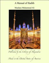 A Manual of Hadith