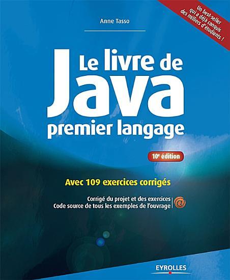 Le livre de Java premier langage PDF