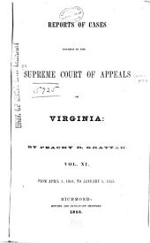 Cases Decided in the Supreme Court of Appeals of Virginia: Volume 52
