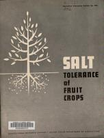 Salt Tolerance of Fruit Crops PDF