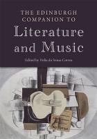 Edinburgh Companion to Literature and Music PDF