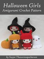 Halloween Girls Amigurumi Crochet Pattern PDF