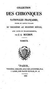 Chroniques de Froissart: Volume10