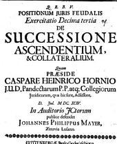 De successione ascendentium et collateralium