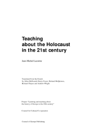 Teaching about the Holocaust in the 21st Century: Volume 253