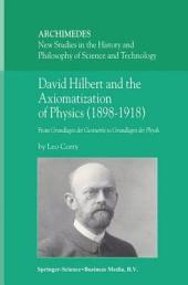 David Hilbert and the Axiomatization of Physics (1898–1918): From Grundlagen der Geometrie to Grundlagen der Physik