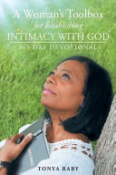 A Woman s Toolbox For Establishing Intimacy with God PDF