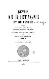 Revue de Bretagne, de Vendée & d'Anjou: Partie2