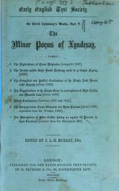 Works: ¬The minor poems of Lyndesay, Volume 5