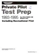 Private Pilot Test Prep PDF