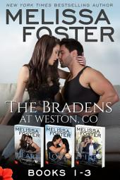 The Bradens at Weston, CO (Books 1-3 Boxed Set): Lovers at Heart, Destined for Love, Friendship on Fire