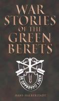 War Stories of the Green Berets PDF