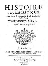 Histoire ecclesiastique. -Paris, Mariette 1719-1768