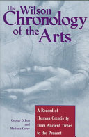 The Wilson Chronology of the Arts PDF