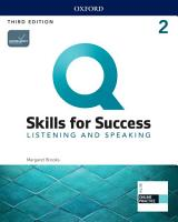 Q  Skills for Success 3E Listening and Speaking Level 2 PDF