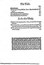 A Treatise Concerning the Causes of the Magnificencie and Greatness of Cities ...