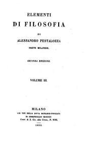 Elementi di filosofia. 2. ed: Volume 3