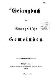 Gesangbuch für evangelische Gemeinden