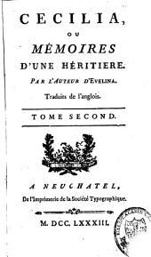 Cécilia ou Mémoires d'une héritière: Volume2