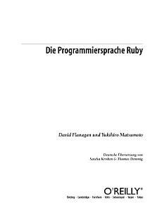 Die Programmiersprache Ruby PDF