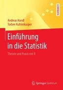 Einf  hrung in die Statistik PDF