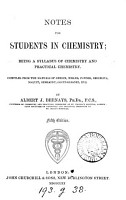 Notes for Students in Chemistry     PDF