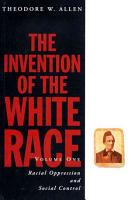 The Invention of the White Race PDF
