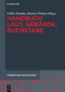 Handbuch Laut, Gebärde, Buchstabe