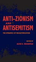 Anti Zionism and Antisemitism PDF