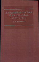 Bibliographical Handbook of American Music PDF